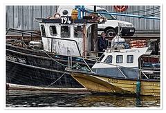 Fishing vessels, Western Ireland (Anders Hjertén) Tags: rossaveel galway gaelic irish eire erin nik