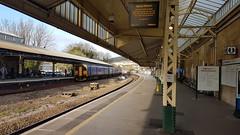 First Great Western 150265 / 150104.  2O97 1640 Gloucester - Weymouth.  Bath Spa/ 4th April 2017 (Ajax46.) Tags: firstgreatwestern 150265 bathspa 150104 2o971640gloucestertoweymouth 4thapril2017