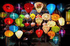 Colourful lanterns (BHWNDN) Tags: colors colours colourful lantern asia vietnam culture people nightphotography night