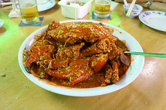 IMG_8106 No Signboard, Geylang - chilli crab (drayy) Tags: singapore transit chilli crab chillicrab singaporechillicrab nosignboard restaurant dinner food