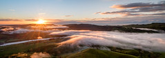 Above the clouds (lizcaldwell72) Tags: mist tematapeak sky hawkesbay newzealand cloud sunrise light