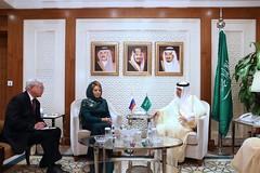 Встреча В. Матвиенко с главой МИД Саудовской Аравии (The Council of Federation) Tags: валентинаматвиенко советфедерации саудовскаяаравия