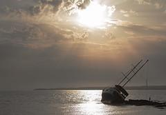 Addio (nicolamarongiu) Tags: sea mare color goodbye sunset sardegna sardinia drama paesaggio light composition dark intimity solitary shot capture