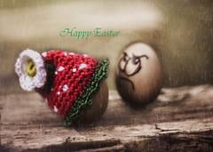 Happy Easter it rains (heike_hechelmann) Tags: ostern happy easter smooth cyclop 1585 analoge analog bokeh bokeholic sonya7ii