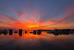 Swansea-sunset_DSC6980 (Mel Gray) Tags: swansea newsouthwales newcastle sunset australia australiansunset boats water lakemacquarie