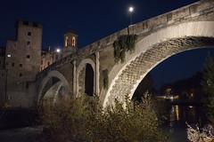Pons Fabricius (occhio-x-occhio) Tags: rough watermark sky city blue gray web rome old bridge brick dawn