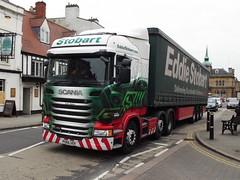 PO66UDV (47604) Tags: scania po66udv eddie stobart lulu honor hgv lorry towcester