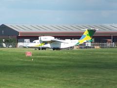 YL-KSB (IndiaEcho Photography) Tags: ylksb antonov an74 ks avia coventry baginton airport airfield airliner aircraft aviation aeroplane warwickshire england