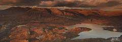 Foinaven, Arkle & Loch Stack (►►M J Turner Photography ◄◄) Tags: arkle foinaven benstack lochstack sutherland scotland northscotland landscape sunset mountain loch