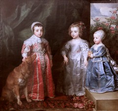 IMG_4002HA Anton Van Dyck. 1599-1641. Anvers et Londres.  Les enfants dui Roi Charles Ier d'Angleterre. The children of King Charles I of England. 1635. Turin Sabauda. (jean louis mazieres) Tags: peintres peintures painting musée museum museo italie turin torino sabauda antonvandyck