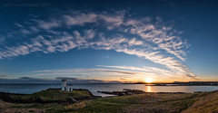 Days Gone Down (ianrwmccracken) Tags: lighthouse fife landscape sunset elie sky nikon riverforth nikkor1635mm panorama rubybay cloud sea