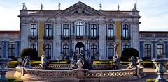 Queluz Palace (Biolchini) Tags: portugal queluz lisbon lisboa palace palácio garden jardim monument statue royal real