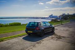 My Golf 4 Turbo (Tim Linkin (Hashtag Media UK)) Tags: vw golf4 golf turbo gti volkswagen blackmagic roadlegal folkestone seaside beach sky nikond7100 dublife