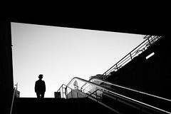 Downwards (Hans-Jörg Aleff) Tags: berlin blackwhite downwards streetphotography deutschland
