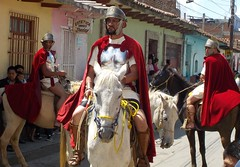 Roman cavalry (Tim Little) Tags: easter passion procession sancristobal horse mexico
