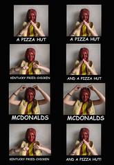 40 random (emifly) Tags: food selfportrait silly chicken hotdog dance random kentucky fast mcdonalds pizza hut fried plonker selfie