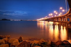Penang Bridge (Micartttt) Tags: bridge georgetown malaysia penangbridge supershot d80 micarttttworldphotographyawards micartttt