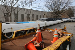 World's longest limousine (vetaturfumare - thanks for 2 MILLION views!!!) Tags: rot yellow jay limo longisland cadillac eldorado jacuzzi record imperial crown trailer guiness longest limousine cones 1964 sections fibreglass worldslongest 100ft 100feet ohrberg