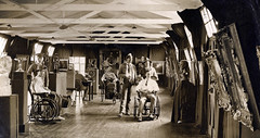 Art Therapy in Hospital, Wandsworth, First World War (robmcrorie) Tags: world art history hospital war general first patient health national doctor nhs third service british nurse therapy healthcare wandsworth