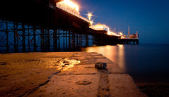 Brighton sea front.