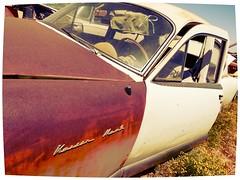 half rusted Kaiser Manhattan - Casa Grande - DVAP (redrock flyer) Tags: rust rusty rusted kaiser oldcar kaisermanhattan dvapcasagrande