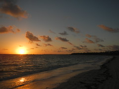 Beach sunrise (tquist24) Tags: ocean morning sun beach sunrise nikon dominican republic dominicanrepublic punta tropical coolpix cana puntacana caribbeansea bavaro bavarobeach aw100 secretsroyalbeach nikoncoolpixaw100