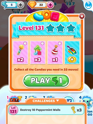 Candy Blast Mania Level Setup: screenshots, UI