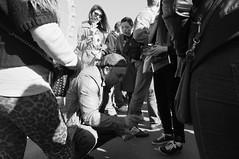 (www.dbuttifant.com/) Tags: street people white black london photography fuji x tourists series fujifilm x100