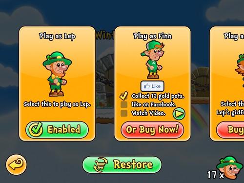 Lep's World avatar: screenshots, UI