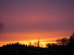 Sunset (tquist24) Tags: sunset sky orange clouds canon evening indiana powershot elkhart sx10 canonpowershotsx10is