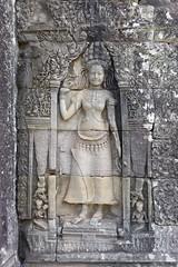 Coucou! (SchoonbrodtB) Tags: lumix cambodge cambodia kambodscha angkor apsara bayon 2014  camboya  lx7