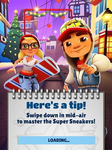 Subway Surfers Loading: screenshots, UI