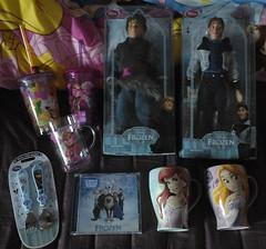 Disney Store Order (AngelShizuka) Tags: dutch mugs frozen store doll dolls little hans tinkerbell prince disney mug mermaid merch rapunzel soundtrack ost tangled kristoff bjorgman