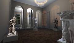 Hotel de Rodin - Immortal Capture (Nazeem Resident) Tags: life friends house playing art home museum hotel design hall scenery play exploring musee sl secondlife second historical society rp rodin neoclassical role biron antiquity roleplay