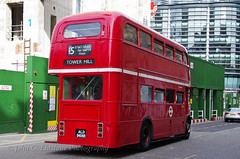 Stagecoach AEC Routemaster RM1968 , ALD 968B rear view (EastBeach68) Tags: london 9 15 ae parkroyal londonbus londontransport tfl aecroutemaster classiclondonbus heritageroutesrunningday heritagelondonbus 9and15runningday heritageroutesrunningday2014 tflrunningday
