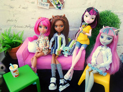 Nya)) (Artemis_Arty) Tags: monster doll dolls ooak mattel monsterhigh