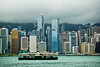 Victoria Harbour, Hong Kong Island (MM_Andamon) Tags: skyline architecture buildings hongkong nikon hongkongisland victoriaharbour nikond200 18200mmvr hsbcmainbuilding cheungkongcenter aiacentral jardinehouseconnaughtcentre bankofchinatowerboctower