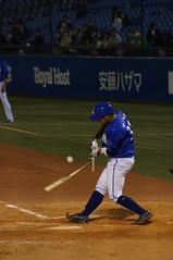 DSC06417 (shi.k) Tags: 神宮球場 横浜ベイスターズ 140516 嶺井博希 イースタンリーグ