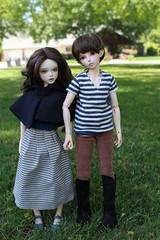 last one I promise :) (anthrogirl14) Tags: boy kid doll vampire 14 lisa bjd freckles custom hybrid fairyland addiction faceup minifee iplehouse nanuri