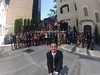 Selfie de Javier Segovia con el grupo JLI2014