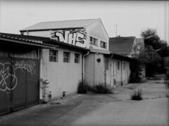 München ehemalige Artilerie-Remise des bayerischen Heeres (Pacific11) Tags: vintage germany munich deutschland bavaria alt muenchen häuser militär hallen bayerisch kasernengelände artilerie