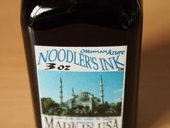 Noodler's Ottoman Azure - Close Up