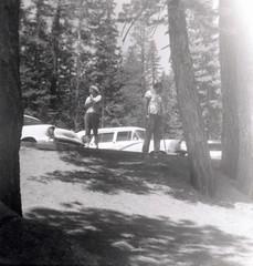Just Looking, But Not At You (jhitzeman) Tags: parking edgar eddie yosemitenationalpark oswald yose lieschen hitzeman 1960circaliescheneddie