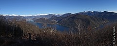 Panorama sublime sur le Lago di Lugano et les environs depuis le Sasso Paradiso (Monte Derta) (2013-12-29 -23) (Cary Greisch) Tags: italy ita lombardia lagodilugano carygreisch montederta sassoparadiso