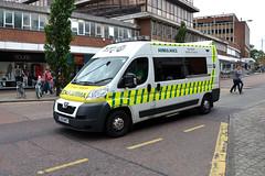 St John Ambulance SR105 LS13NKT (Howard_Pulling) Tags: uk bus buses june nikon norfolk norwich 2014 howardpulling d5100