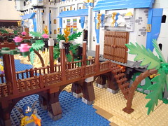 Lego Castle 05-14 Dry Boardwalk (Dursaflare) Tags: castle water bed bedroom king lego princess lion prince medieval queen knights diningroom tables huge ghosts portal walls witches archery skeletons yeti bats throne dungeons genie sorceress wizards waterwell legocastle pianoorgan blueking lioncrest legocastle0514