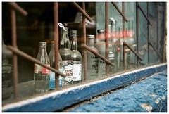 *** (Spartaxus) Tags: analog bottles kodak chorzów