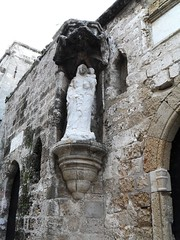 madonna statue - old city of Rhodes (marsider07) Tags: castle statue madonna medieval greece rhodes