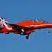 RAF Red Arrows Biggin Hill 2014 Red 9