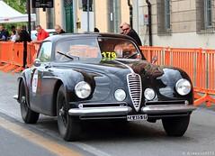 1949 Alfa Romeo 6C 2500 SS Touring (Alessio3373) Tags: alfa alfaromeo 6c 6c2500 millemiglia 6c2500ss alfaromeo6c2500ss ermannokeller alfaromeo6c2500sstouring millemiglia2014 michelekeller